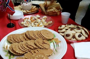 Always have great snacks at our meetings! Thank you to all those who made this great spread!